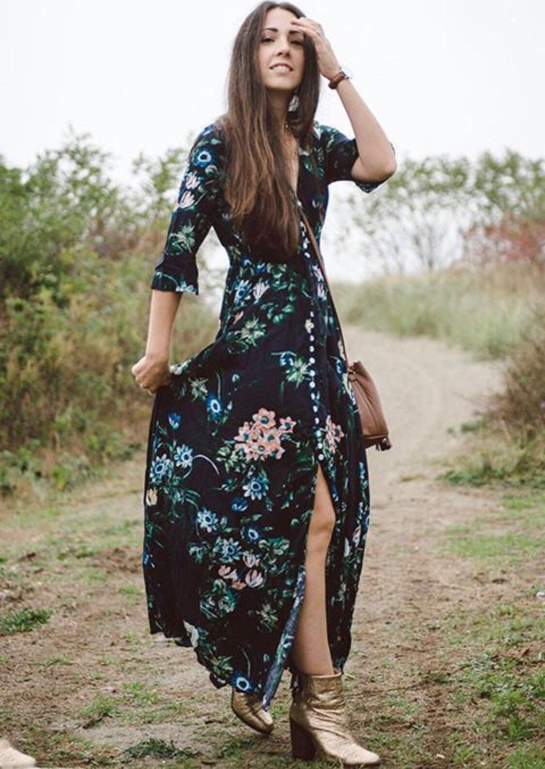 Boho Maxi Dress – Yannuzzi  f87fd29041b0