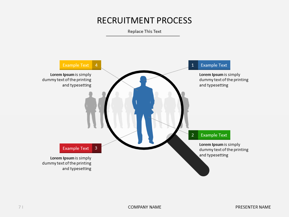 download this #recruitment slide for free from march 7 to 13, 2016, Powerpoint templates