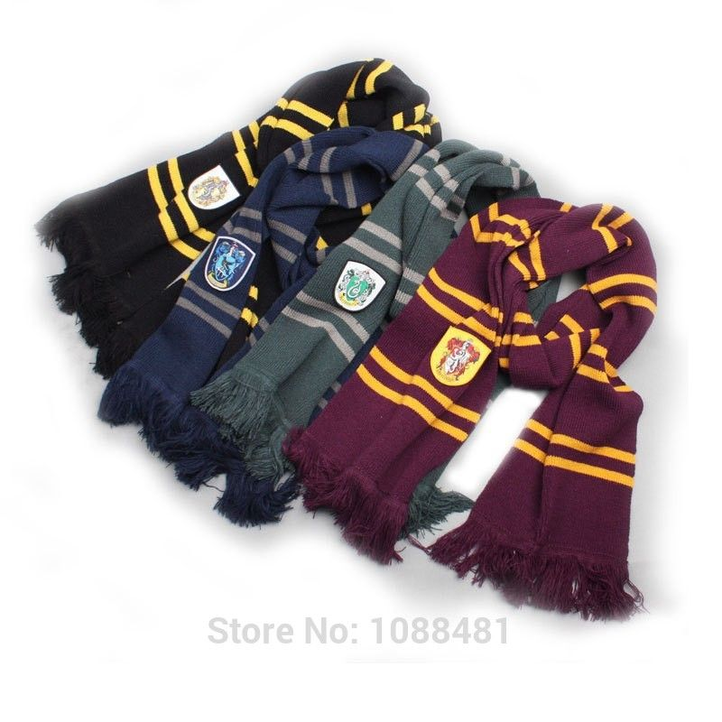 Ravenclaw Hufflepuff Scarves Slytherin Gryffindor Cosplay Potter Harry Winter