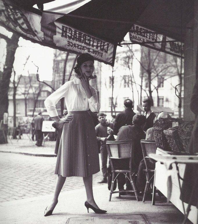 Paris 60s Vintage Paris 1950s Photography Fashion Pictures