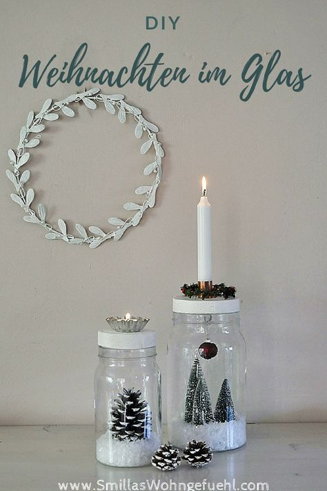 diy weihnachten im glas kreativ. Black Bedroom Furniture Sets. Home Design Ideas