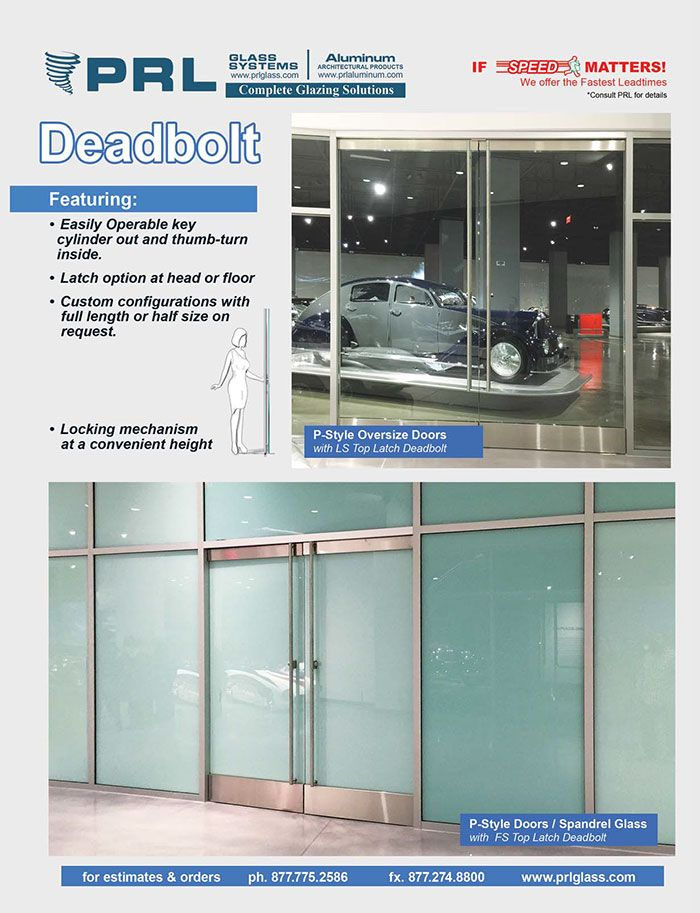 PRL offers many options for access/egress hardware for our Frameless Glass Entrance Doors.  sc 1 st  Pinterest & PRL offers many options for access/egress hardware for our ...