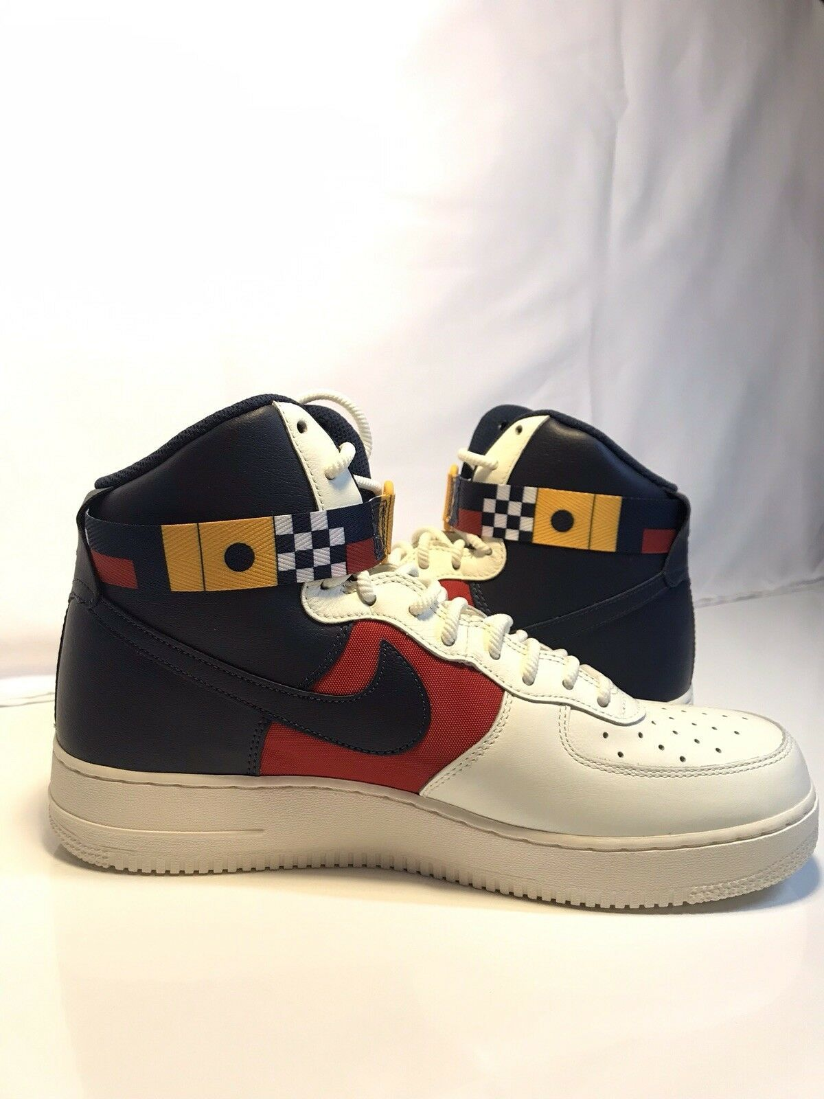 lowest price 1963d fd685 Men s Nike Air Force 1 High 07 LV8  Nautical Redux  Size 10.5 AR5395-100