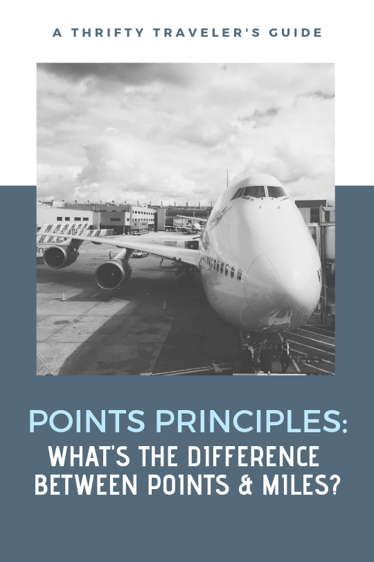 Points Principles What's the Difference Between Points