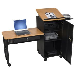 Podium Lectern And Teacher Desk Combination Things To Make Desk