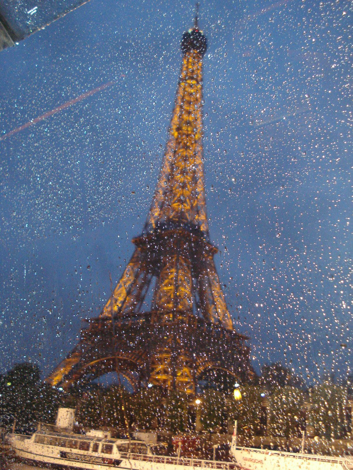 Paris Raining Sous La Pluie Paris J Aime La Pluie