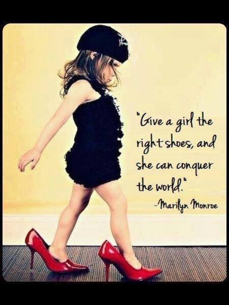 Big girls shoes   Quote   Pinterest