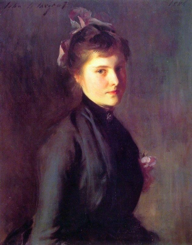 John Singer Sargent - Violet, 1886 | 肖像画, 肖像, 名画