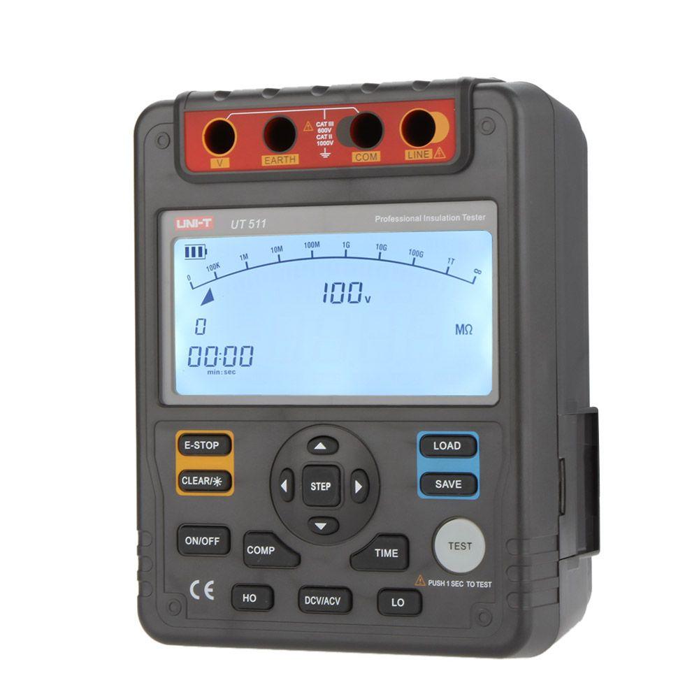 Digital Megger Insulation Resistance Tester Megohmmeter Auto Range 1000v 10gohm Tester Cheap Insulation Electrical Testing Tools