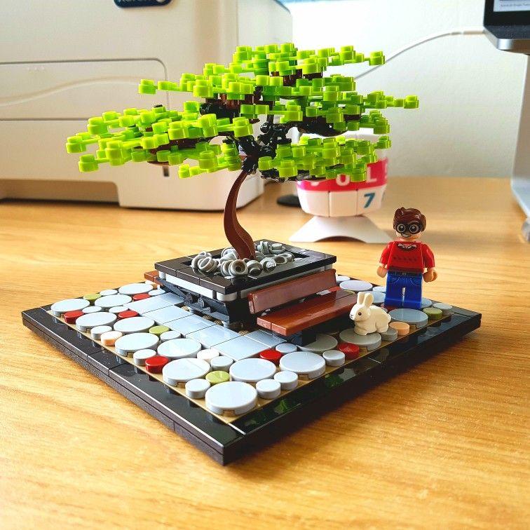 bonsai lego pinterest lego ideen lego und ideen. Black Bedroom Furniture Sets. Home Design Ideas
