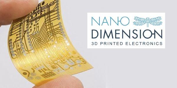 Nano Dimension adds conductive properties to fabric. #NanoDimension #Fabric #smarttextile #3Dprinted