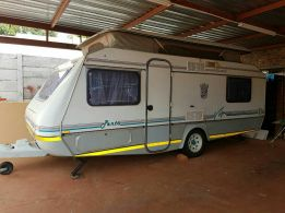 Selling my well looked after caravan