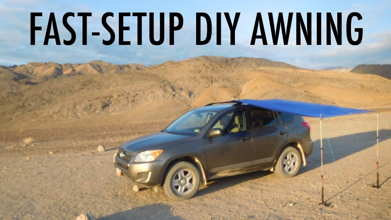 Fast-Setup DIY Van, SUV, or Truck Awning (Great for ...