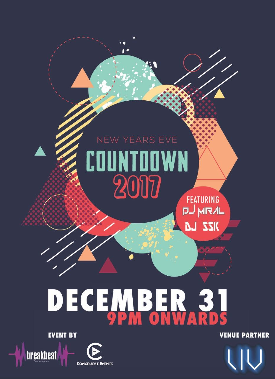 THE COUNTDOWN 2017🍾 When it come to party Las Vegas is