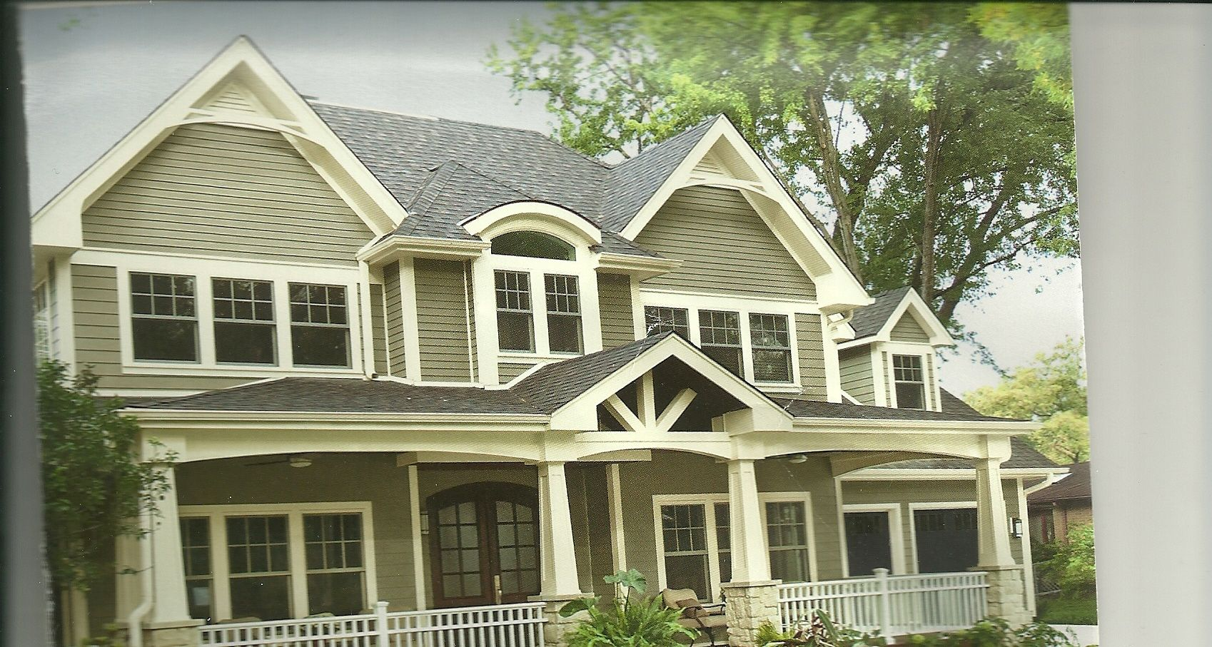 The Colors For The Outside Of My House Valspar Gray Silt And