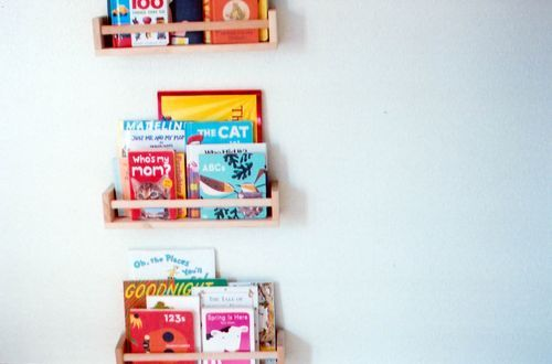 Wall Mountable Spice Racks To Display Our Zine Collection? @Sara Blasdell  @caroline