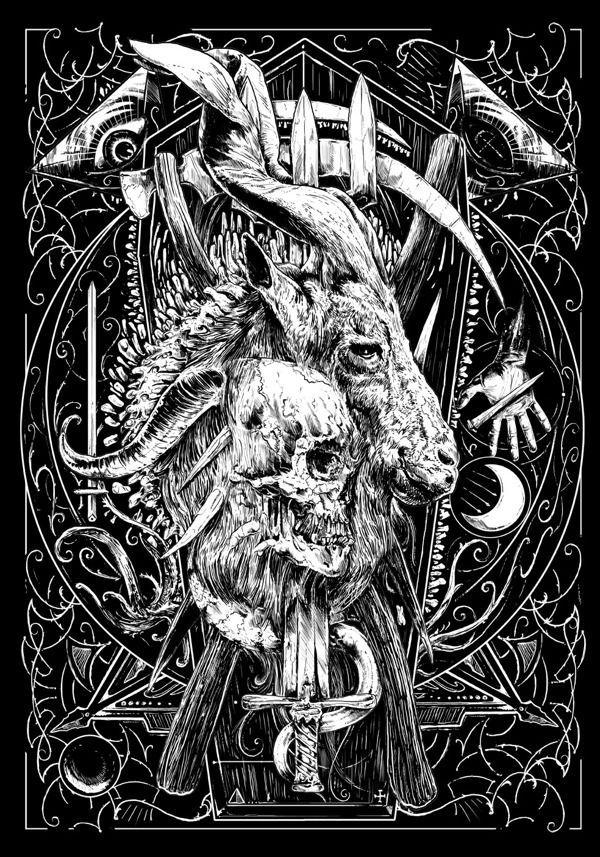 Artworks By Rafal Wechterowicz Art Satanic Art Demon