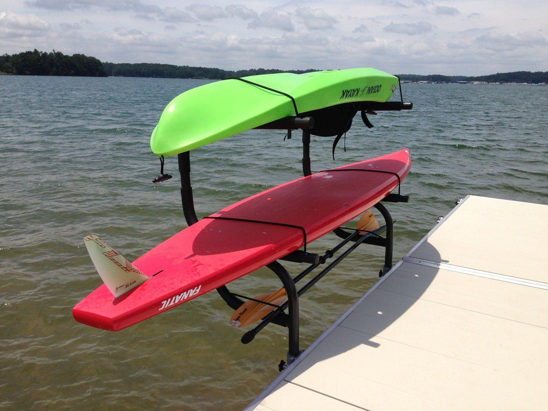 Aluminum Kayak, SUP & Canoe Rack Automotive