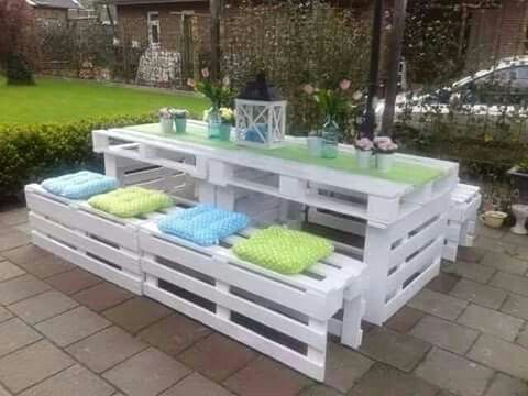 Outdoor furniture made out of pallets - Outdoor Furniture Made Out Of Pallets Inspiring Ideas In 2018
