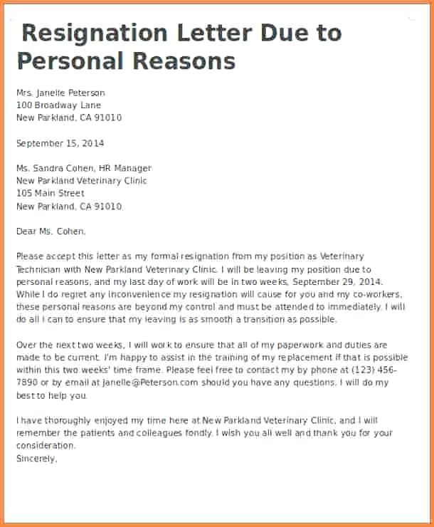 resignation letters email two weeks notice resignation letter