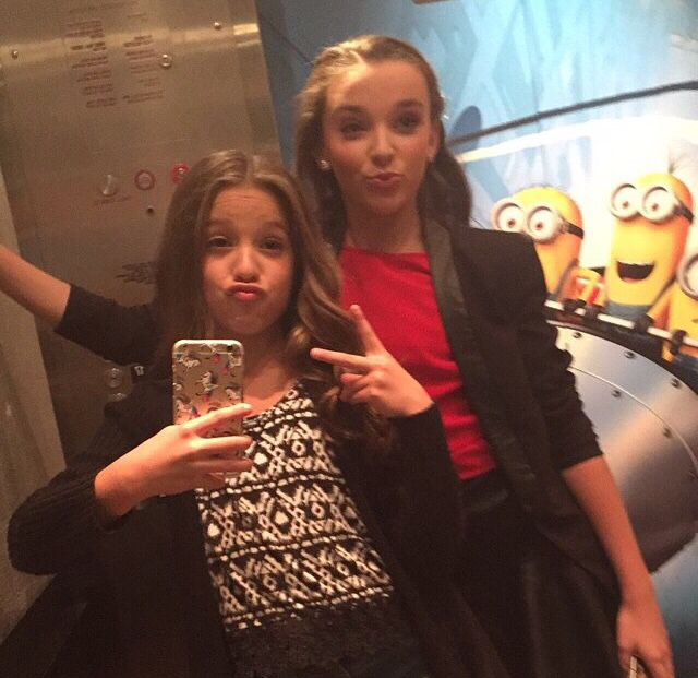 Mackenzie & Kendall at the movies