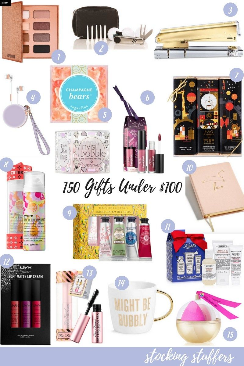 150 Gifts Under 100 The Ultimate Gift Guide For Black Friday Affordable Christmas Gifts Birthday Gifts For Teens Stocking Stuffers For Women
