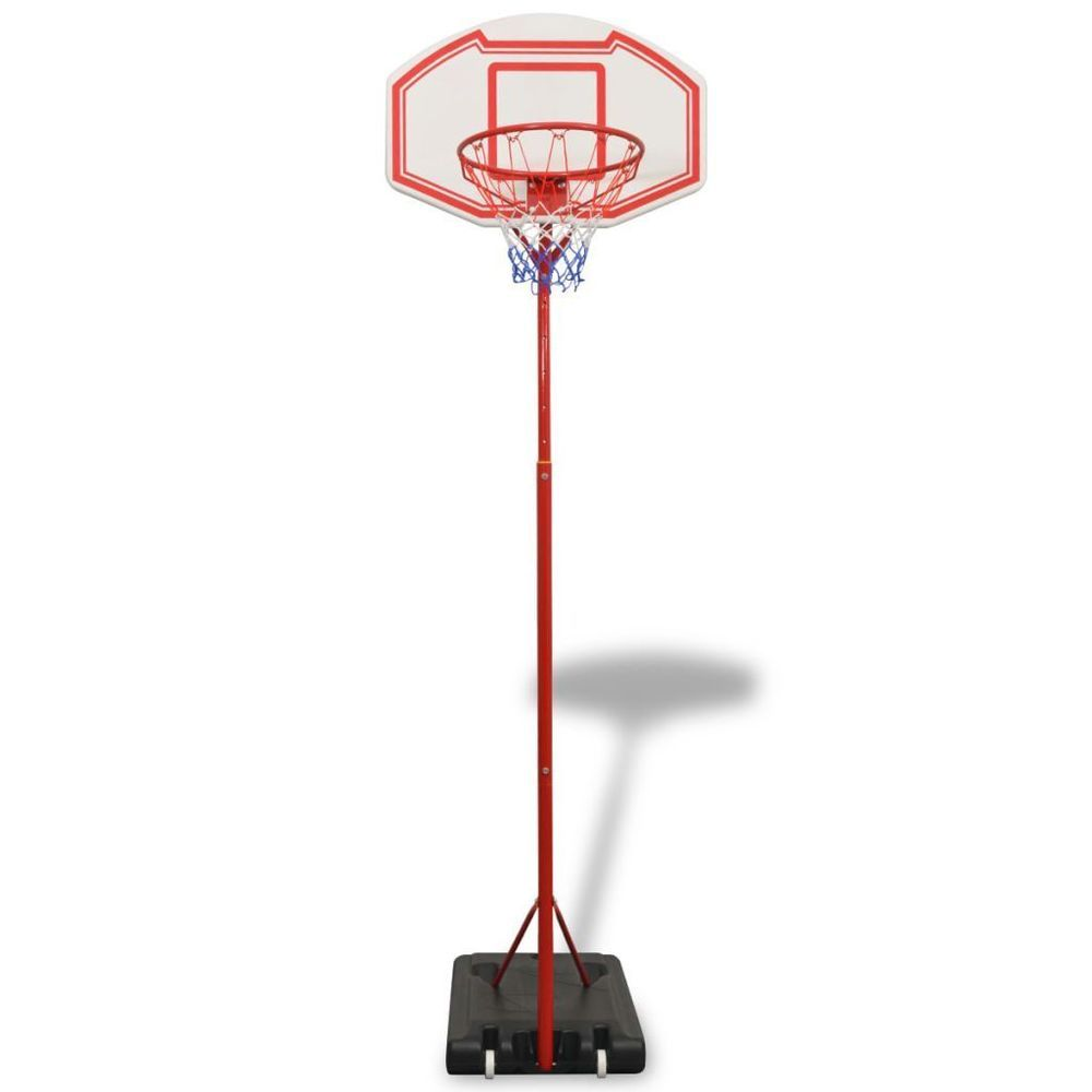 Basket Ball Hoop Fun Activity Exercise Kids Backboard Ring Standing Rim Net Set Basketballhoop