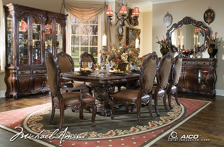 Essex Manor Rectangular Table Dining Set House dreams Pinterest