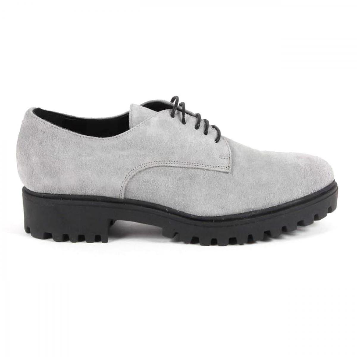 Versace 19.69 Abbigliamento Sportivo Srl Milano Italia Womens Lace Up Shoe C01 CAMOSCIO GRIGIO