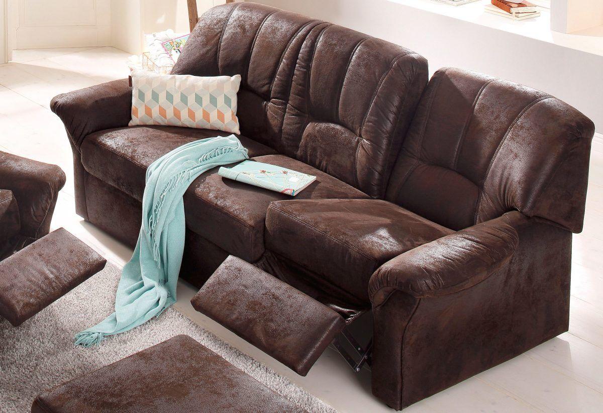 3 sitzer sofa mit federkern, home affaire 3-sitzer »wesley« braun, ohne federkern, inklusive, Design ideen