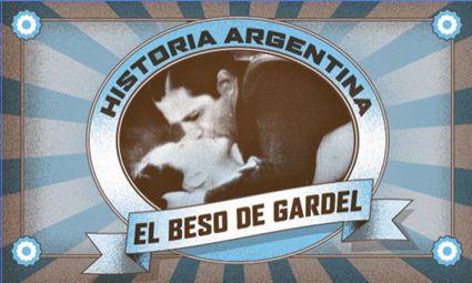El beso de Gardel  Buenos Aires, la marca editora, colección CineDD2