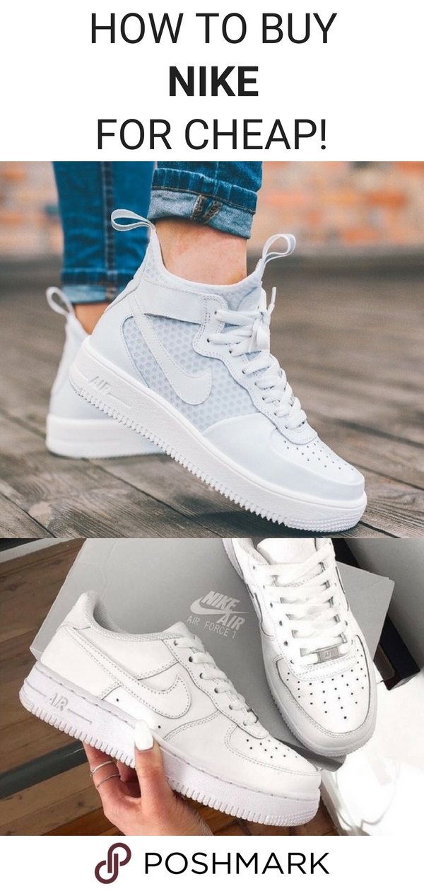 on sale 06a76 5efab Buy pre-owned Nike Air Force 1 sneakers for up to 70% off on Poshmark.  Download the app to shop!