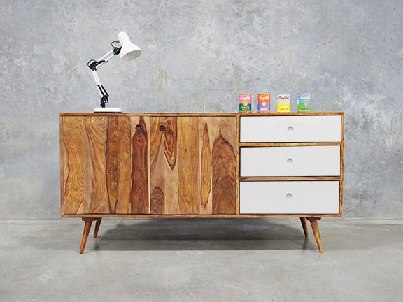 Filip Scandinavian Sideboard - Modern Sideboard Online - Filip Scandinavian Sideboard White Danishes, Dining Room And Buffets