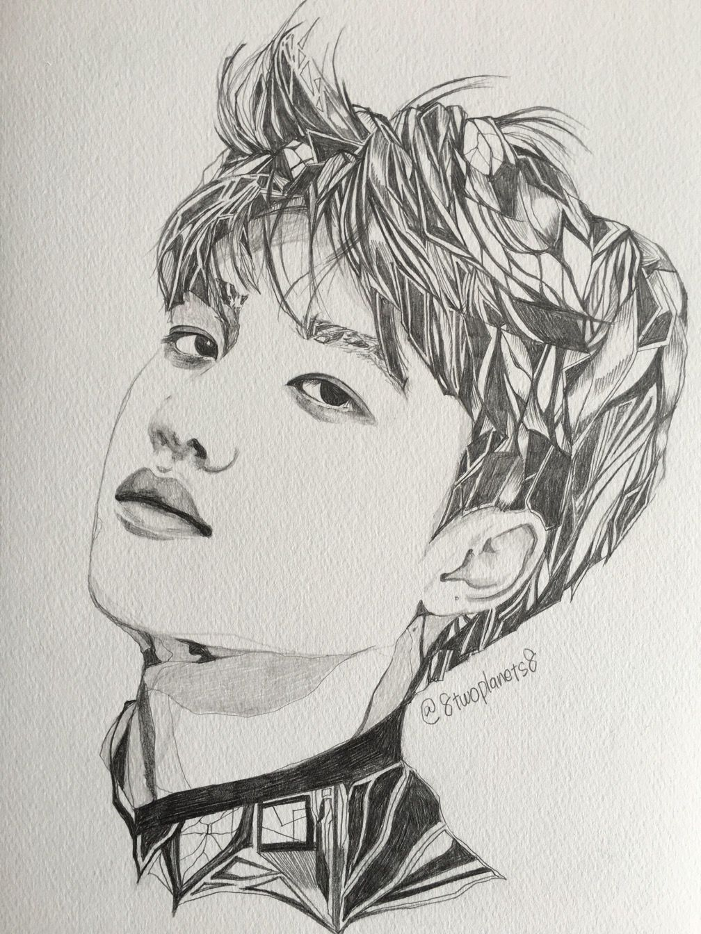 Pin by 【a s h】 on Kpop Fanart Exo fan art, Kpop drawings