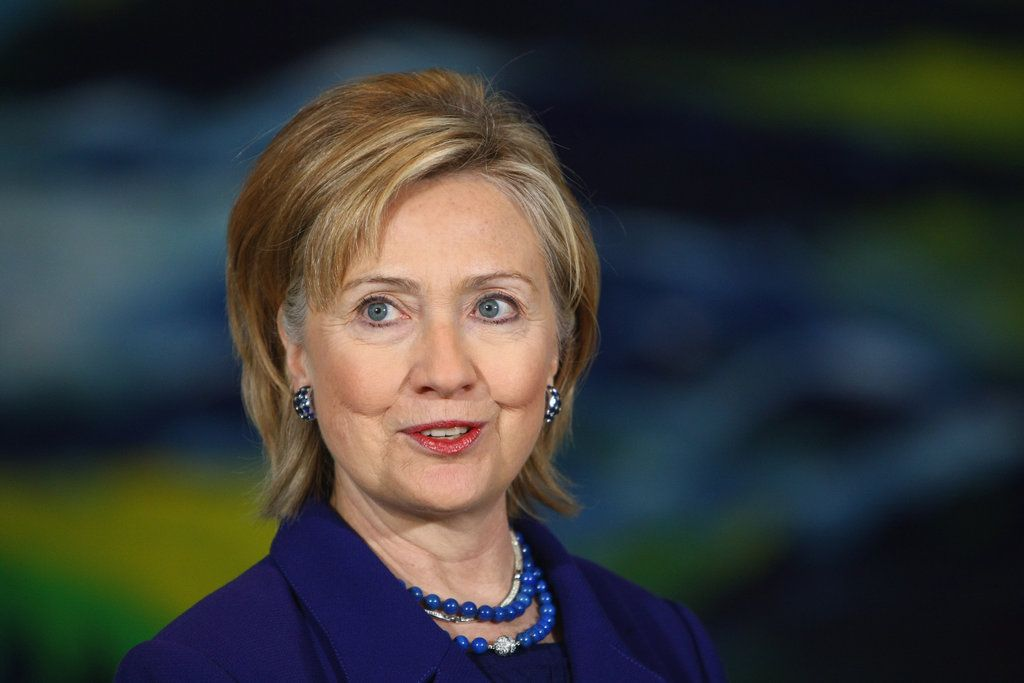 "When You Confront Adversity . . .: ""Always aim high, work hard, and care deeply about what you believe in. And, when you stumble, keep faith. And, when you're knocked down, get right back up and never listen to anyone who says you can't or shouldn't go on.""  — Hillary said these inspirational words in her concession speech after losing the nomination to Barack Obama."