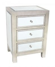 Carlyle Nightstand - 3 Drawer at I.o. Metro in rogers 319