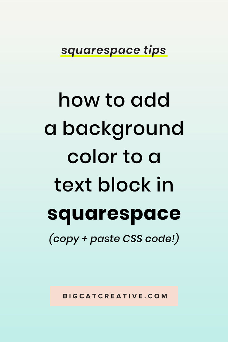 How to Add a Background Color to a Text Block in