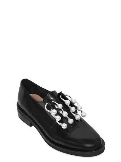 855f3ecc5e COLIAC 20Mm Anello Leather Piercing Shoes, Black. #coliac #shoes #lace-up  shoes