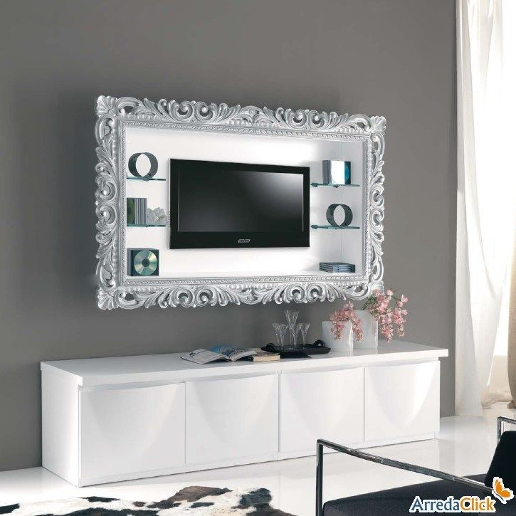 Cornice appendi tv | love things | Pinterest | Tv frames, TVs and ...