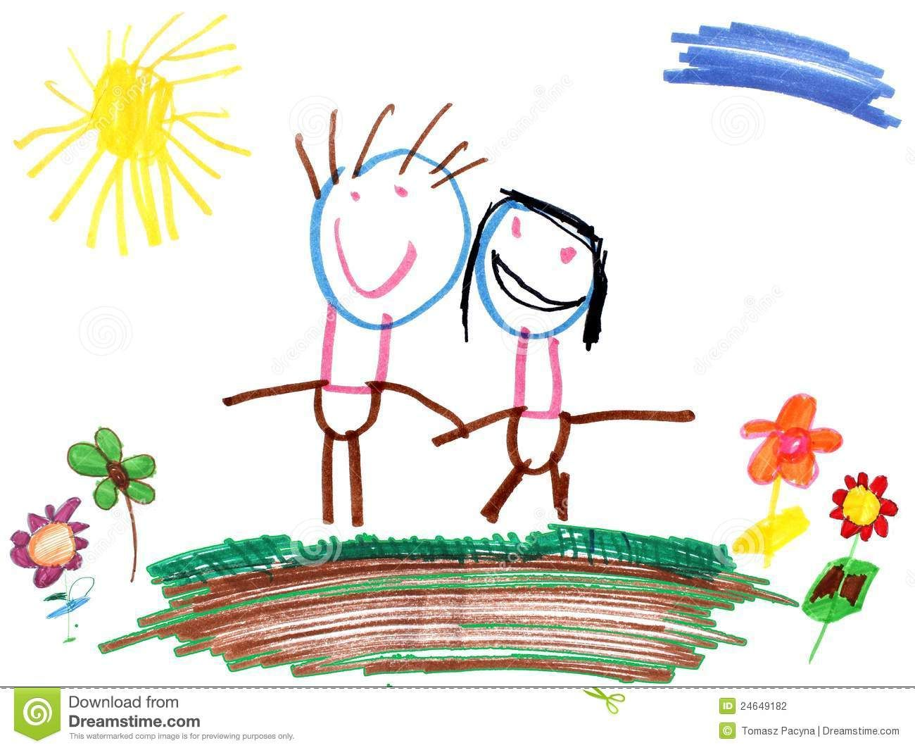 Uncategorized Drawing By Children childrens drawings indicate intelligence in later life study interesting a four year