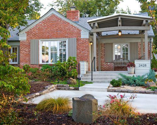 Sagey Green W Red Brick House Styles Outdoor Decor Gazebo