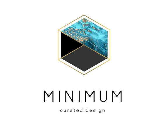 Custom Logo Design Branding Package Premade Graphics Custom Text Clean Geometric Marble Blue Minimalist Modern Hipster Gold Clean Black Gold Logo Design Logo Design Custom Logo Design