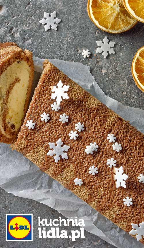 Rolada Pomaranczowa Przepis Recipe Desserts Tasty Christmas