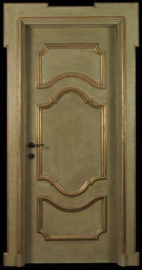 Reproduction of Antique Painted Door