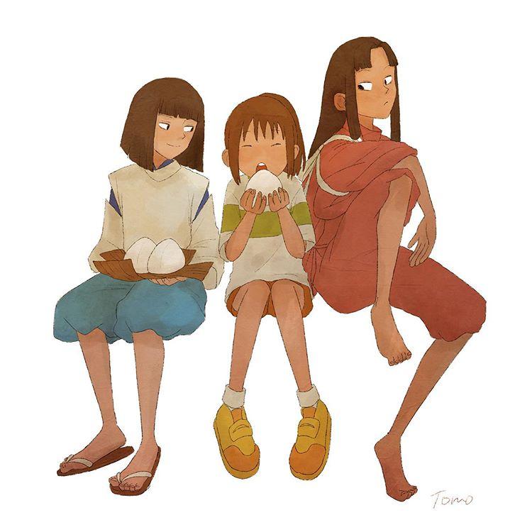 Spirited Away Spirited Away Characters Spirited Away Studio Ghibli Art