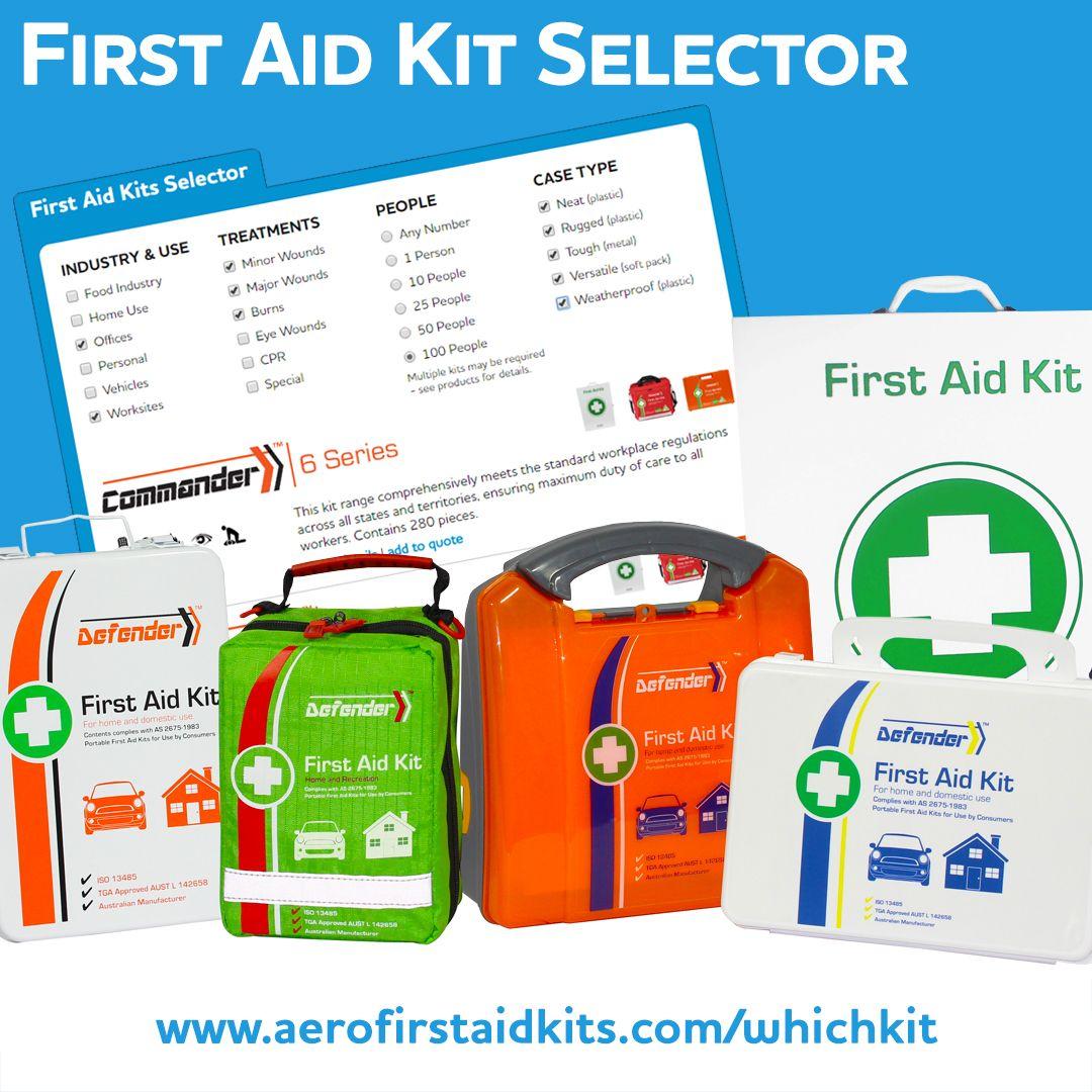 First Aid Kits Selector Australia & NZ Wholesale Aero