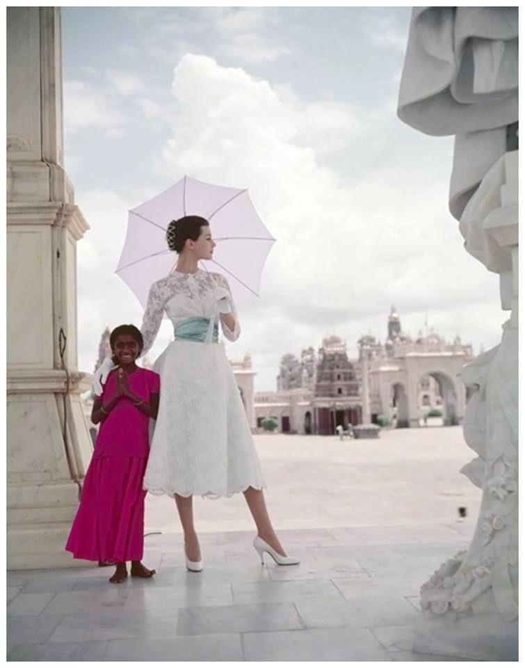 India, 1956 Photo Norman Parkinson