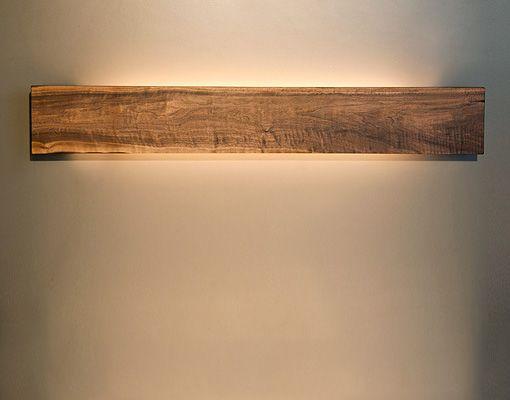 Exklusive Wandleuchten aus Holz  Badezimmer