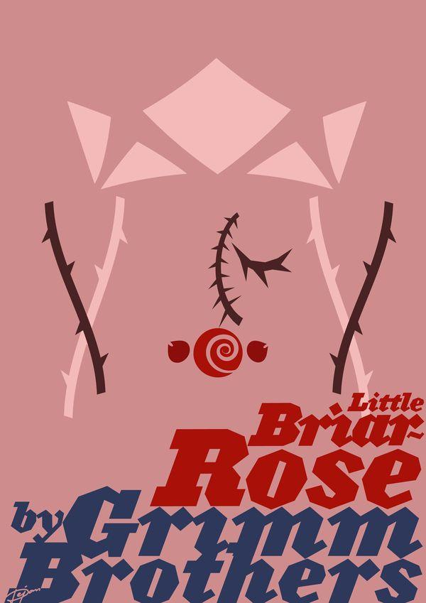 Little Briar-Rose by Dejan Bogdanovic, via Behance