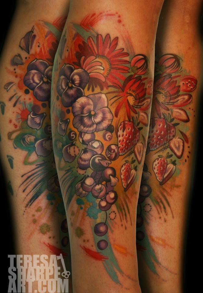 Teresa Sharpe    Contestant on Best Ink Season 2. Tattoo Artist located in Fort Wayne, Indiana at Studio 13 Creative Skin Design